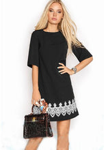 Daily Dress Lace Black