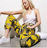 Womens BDU Camo  Cargo Trousers Casual Army Pants