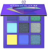 CmaaDu 9 Colors Eye Makeup Glitter Eye Shadow shimmer