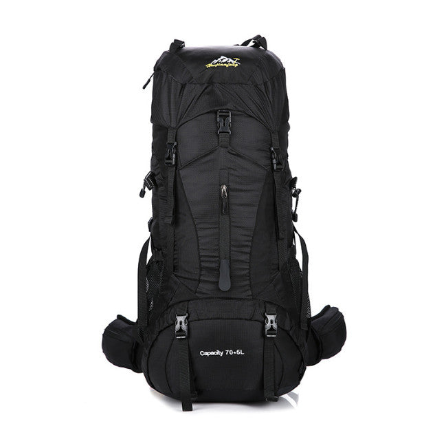 Outdoor Hiking Backpack 75L Travel Camping Backpack  Ultralight Lightweight