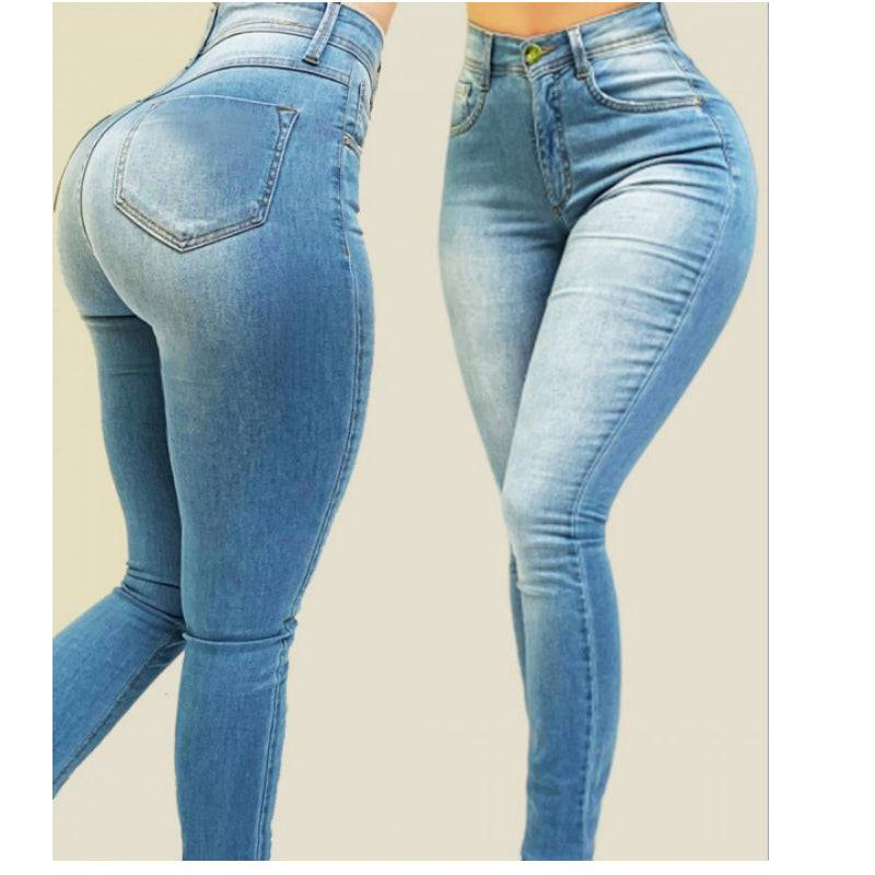 High Waisted Jeans For Women Good Stretchy Plus Size