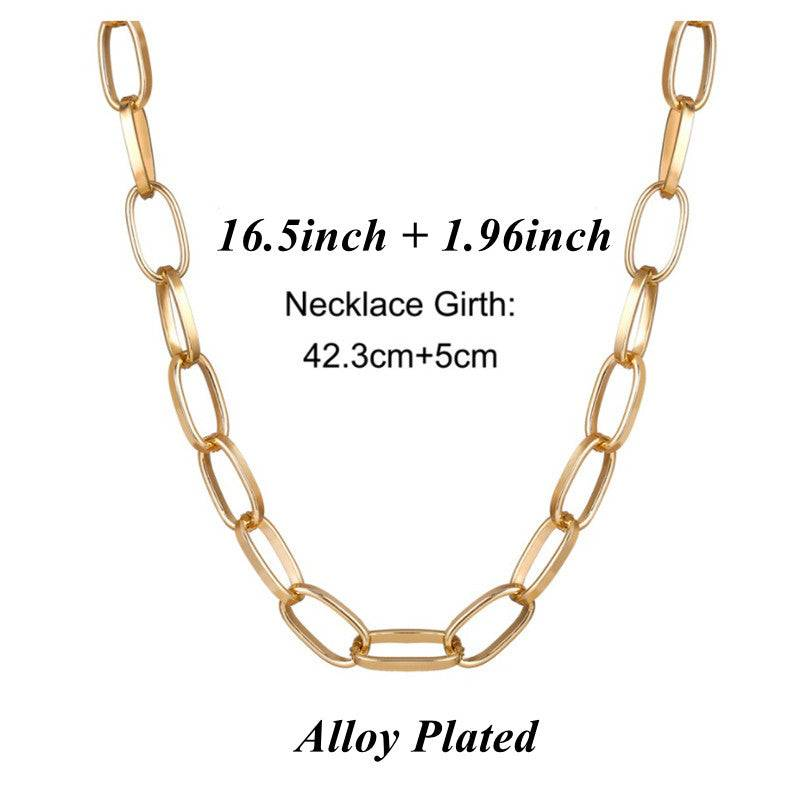 Chunky Necklace Punk Style | Wholesale Price |  AIDAYOU