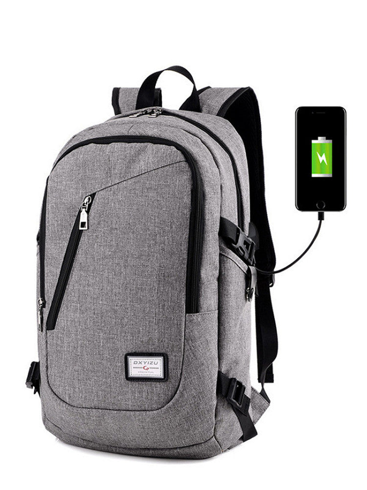 Laptop Backpack  Travel Backpacks Water Resistant  Slim Business Computer Bag with USB Charging Port