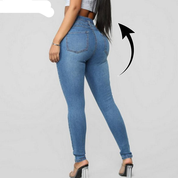 Womens High Waisted Jeans Butt Lifting