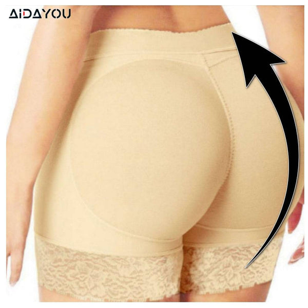 Womens Butt Lifting Underwear Push Up Hips Under Pants Pull Up Panties Lace Underwear