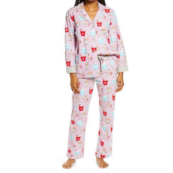 Women Pajamas Set Soft Cotton Home Wear