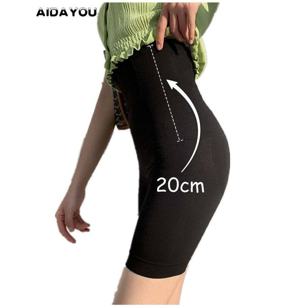 High Waist Short Pants for Women Stretchy Leggings