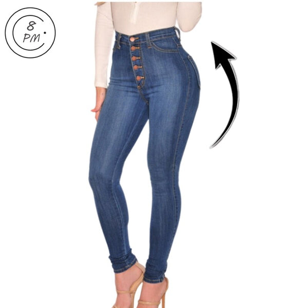 Women's High Rise Jeans Columbia
