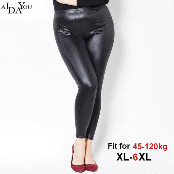 Women Leggings winter plus size 6xl Lady Slim Fitness Workout