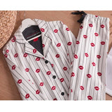 Women Long Sleeve Nightwear Pajamas