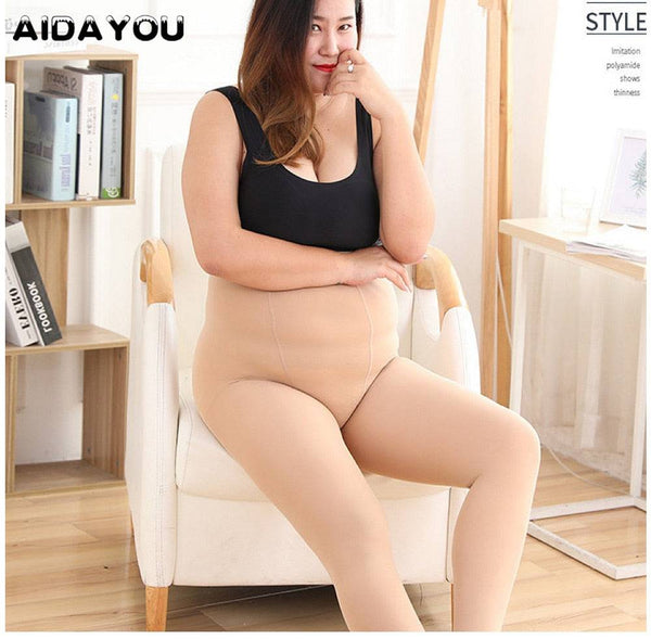 Womens Pantyhose Plus Size Tights | AIDAYOU