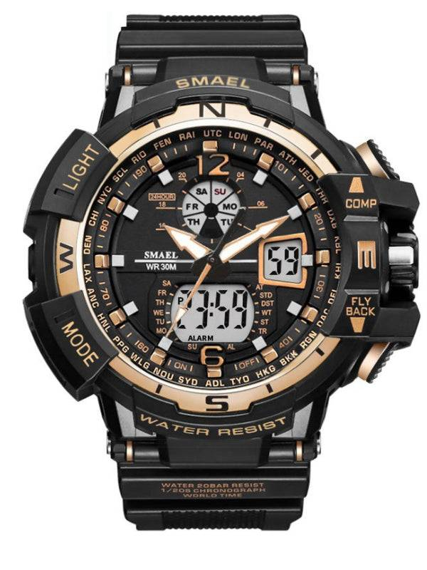 Mens Sports Watch Waterproof Military