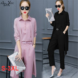 Women's Set autumn chiffon Sets