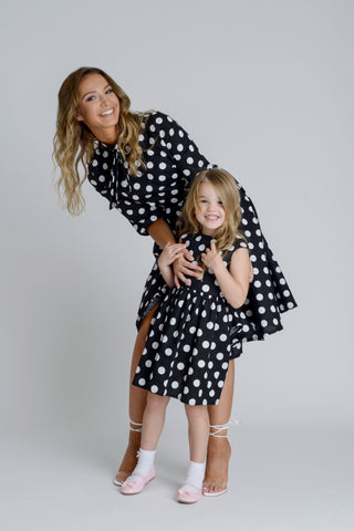 Zalinah White Matching Mama Daughter Dress Ayla