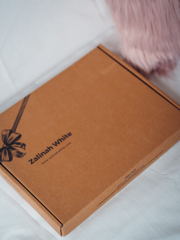 Eco-Friendly Packaging Box - Zalinah White London Based Independent Womenswear Brand
