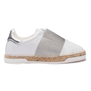 Baskets espadrilles Lancry Space - Argent