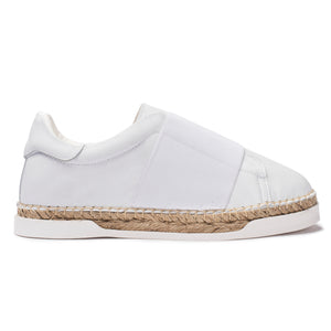 Baskets espadrilles Lancry Space - Blanc