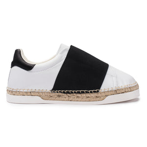 Baskets espadrilles Lancry Space - Noir