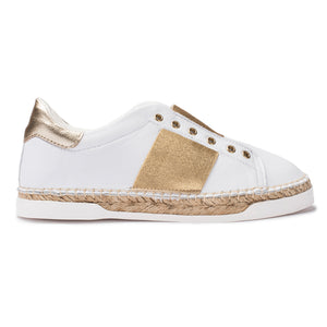 Baskets espadrilles Lancry Hybrid - Or