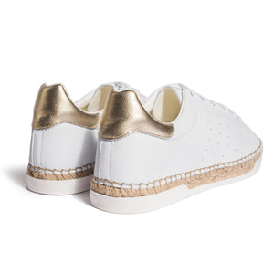 Baskets espadrilles Lancry Scratch - Or