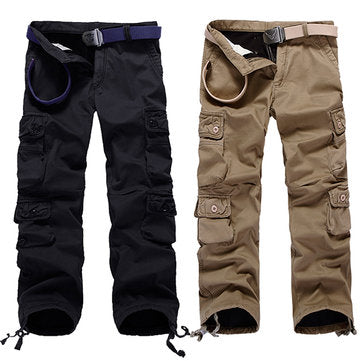 Outdoor Multi Pockets Cotton Cargo Pants - realmanscave