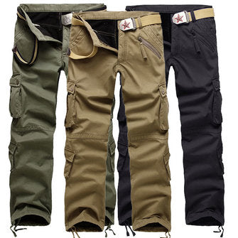 Polar Multi Pocket Cotton Cargo Pants - realmanscave