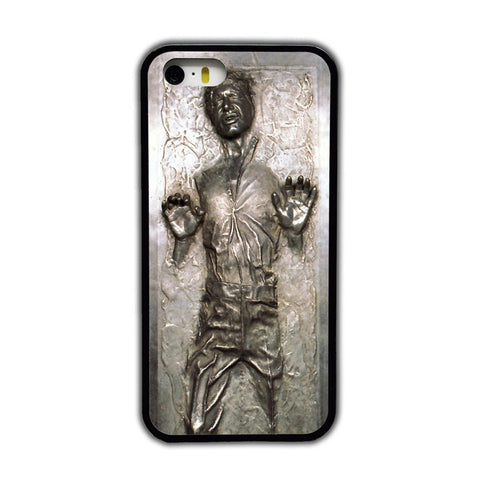 Star Wars Han Solo In Carbonite Cell Phone Case - realmanscave