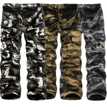 Outdoor Casual Camouflage Cargo Pants