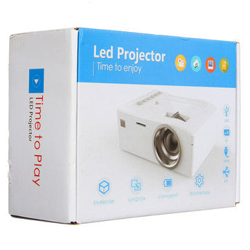 Full HD LED Mini Portable Projector - realmanscave