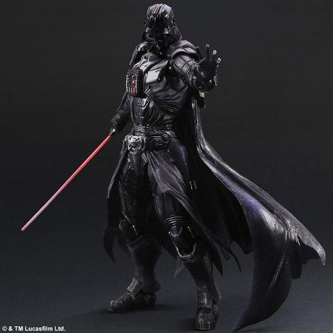 New Arrival Action Figure Playarts Kai Darth Vader Toys Collection Model PVC 250mm Star Wars Vader Play Arts Kai - realmanscave