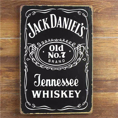 Jack Daniel's Old NO 7 Home Decor 20*30 cm - realmanscave