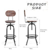 Industrial Style Bar Stool