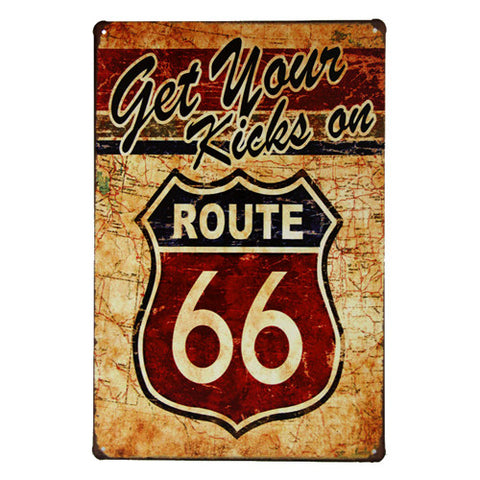Metal/Tin sign poster - realmanscave
