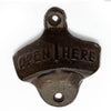 Vintage Antique Iron Wall Mounted Cap Opener