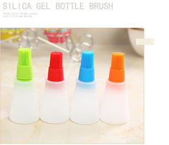1 Silicone Oil Brush Baking Brushes Liquid Oil Pen Cake Butter Bread Pastry Brush BBQ Utensil Safety Basting Brush MK2383 - realmanscave