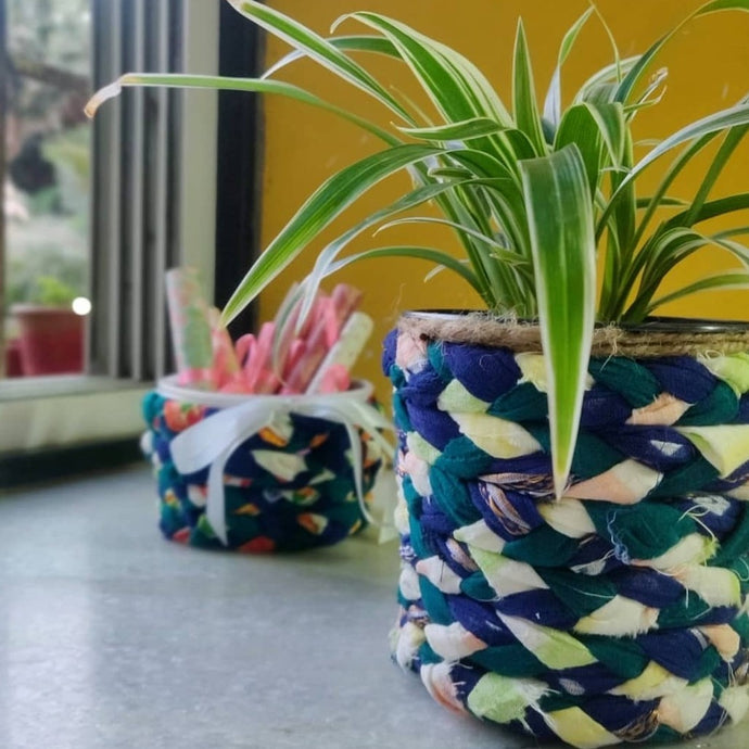 2-Step DIY Planter from Scraps