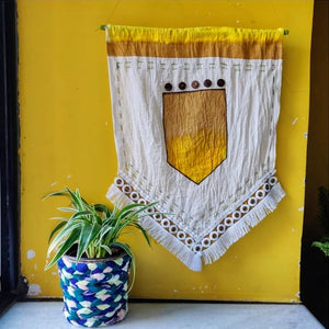 DIY Wall Hanging from Scraps