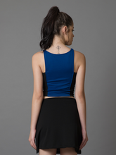 Black N Blue Stretch Top - WhySoBlue