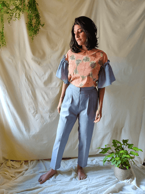 Citrus top and pants set - WhySoBlue