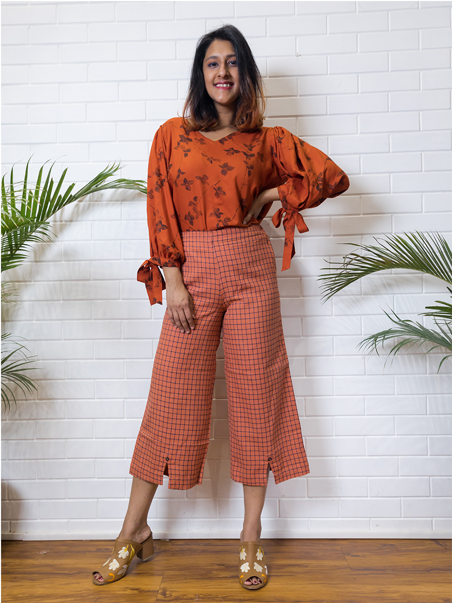 Cutting Chai pants - WhySoBlue