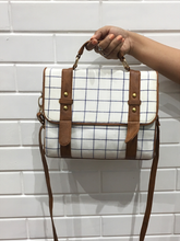 Checkers Buckle Bag - WhySoBlue