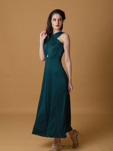 Daenerys Criss Cross Gown - WhySoBlue