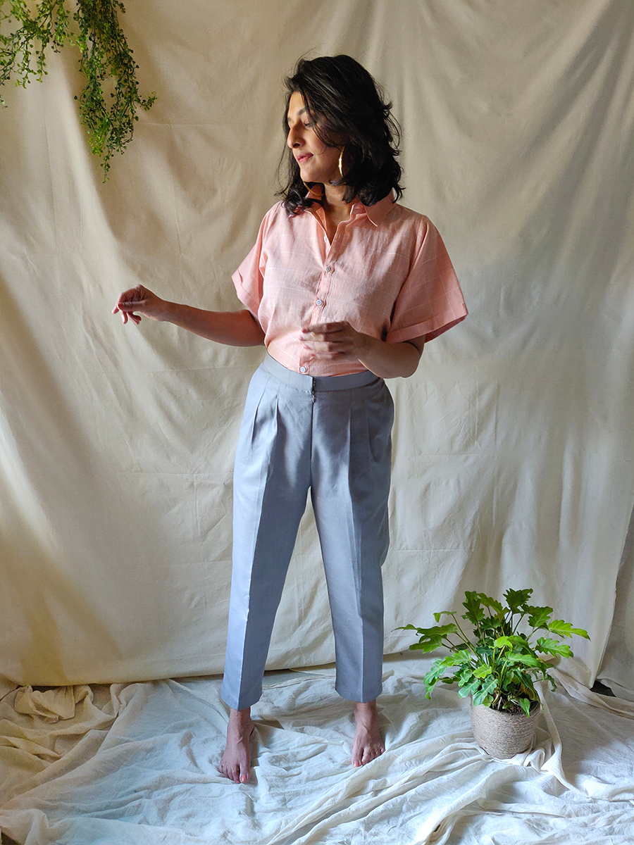 Grey trousers - WhySoBlue