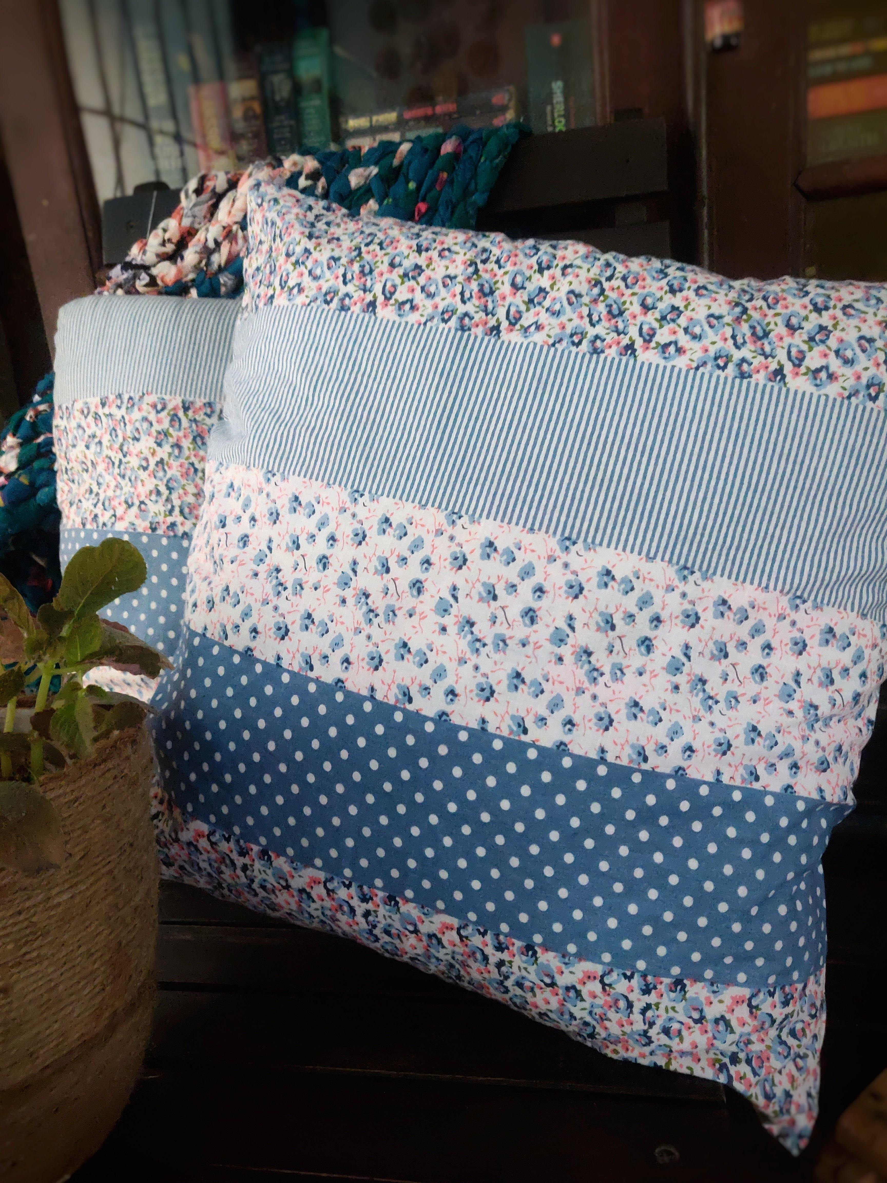 Everyday Blue Cushions - WhySoBlue