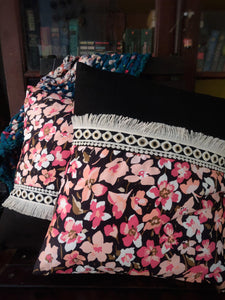 Black Forest Cushions - WhySoBlue