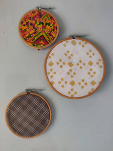 Goodday Hoop Art Set - WhySoBlue