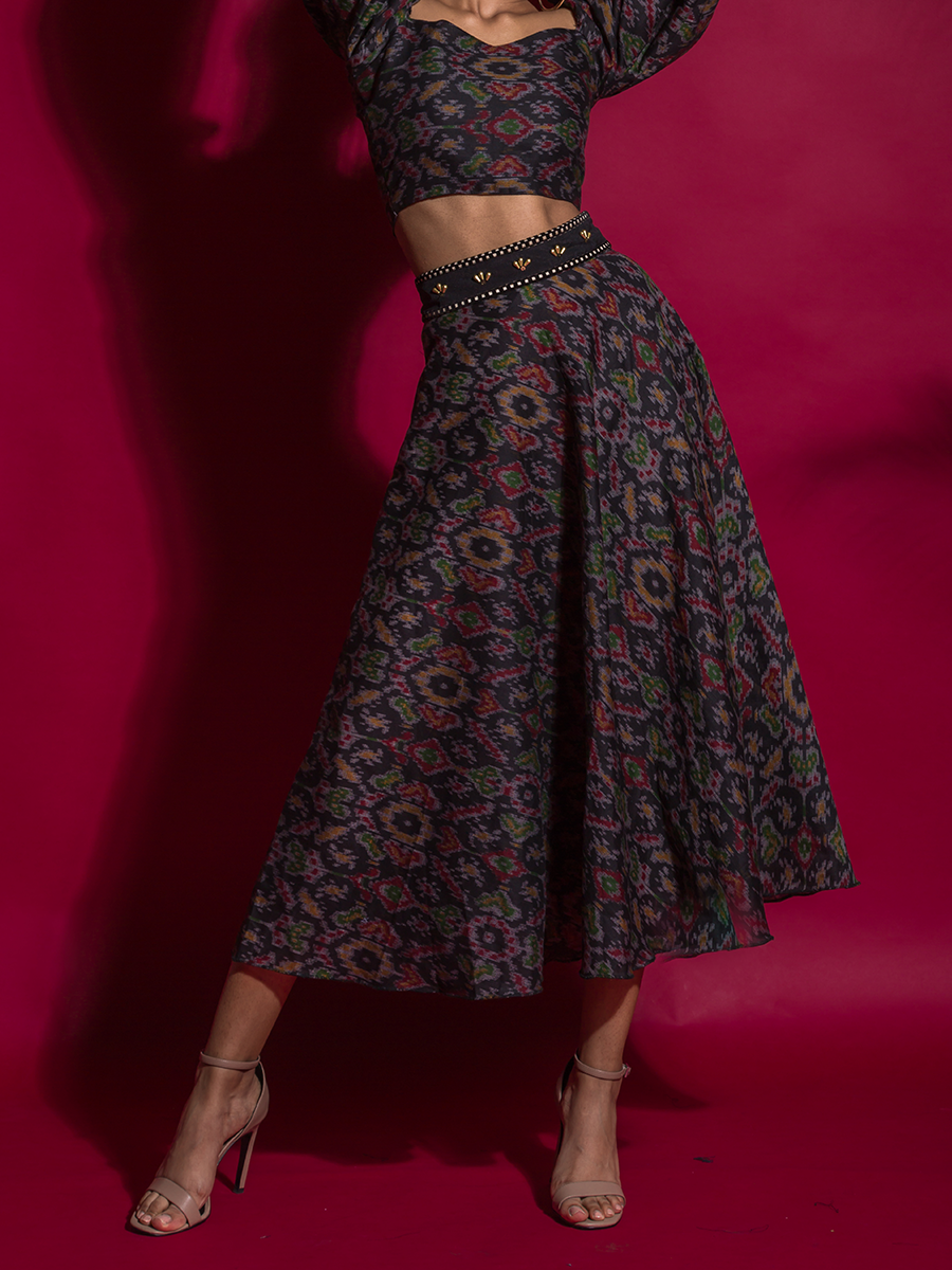 Midnight Wine Skirt - WhySoBlue