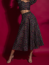 Midnight Wine Skirt