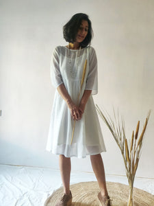 Mul Pleated Dress
