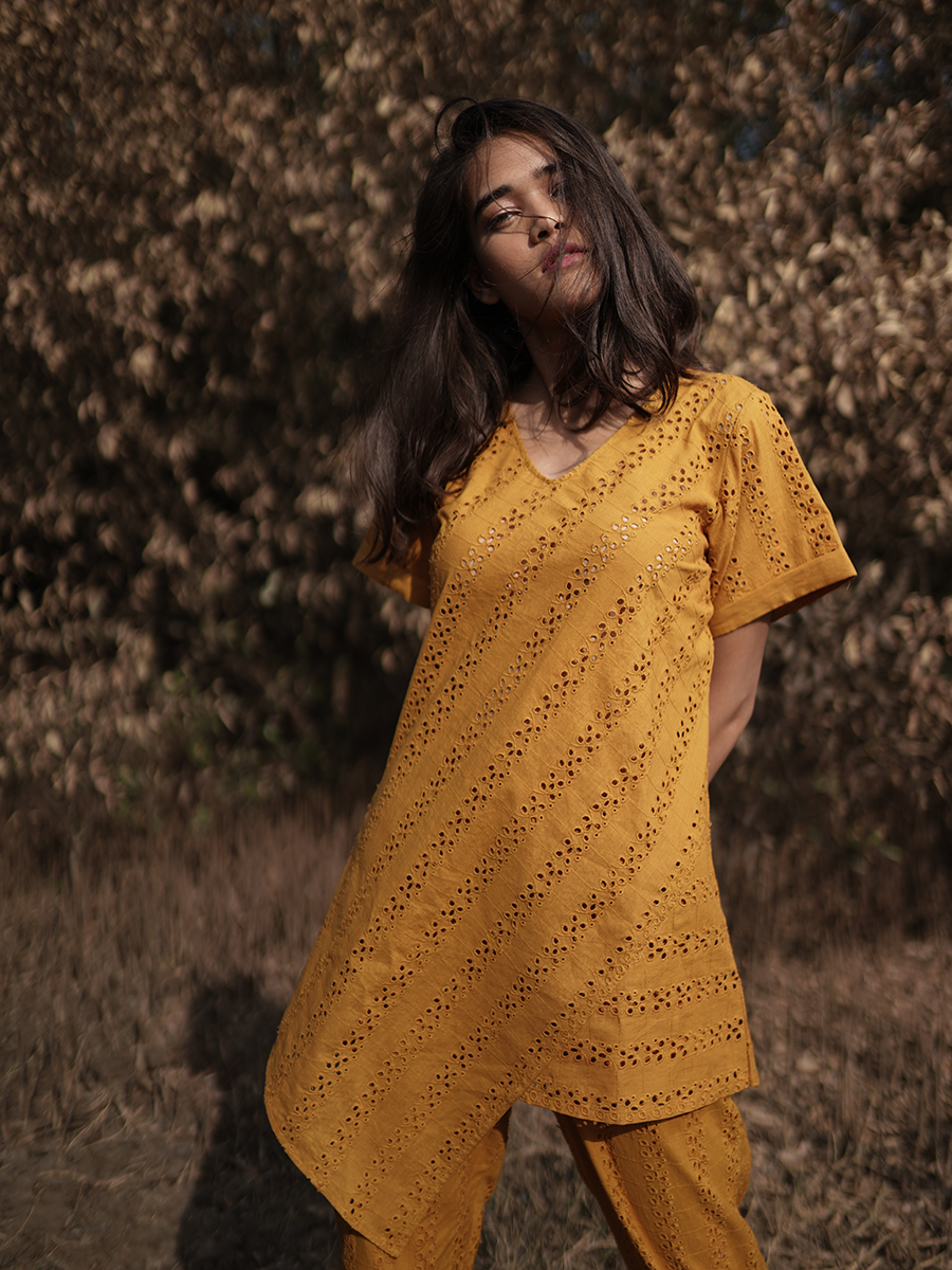 Spiced Ginger Tunic - WhySoBlue